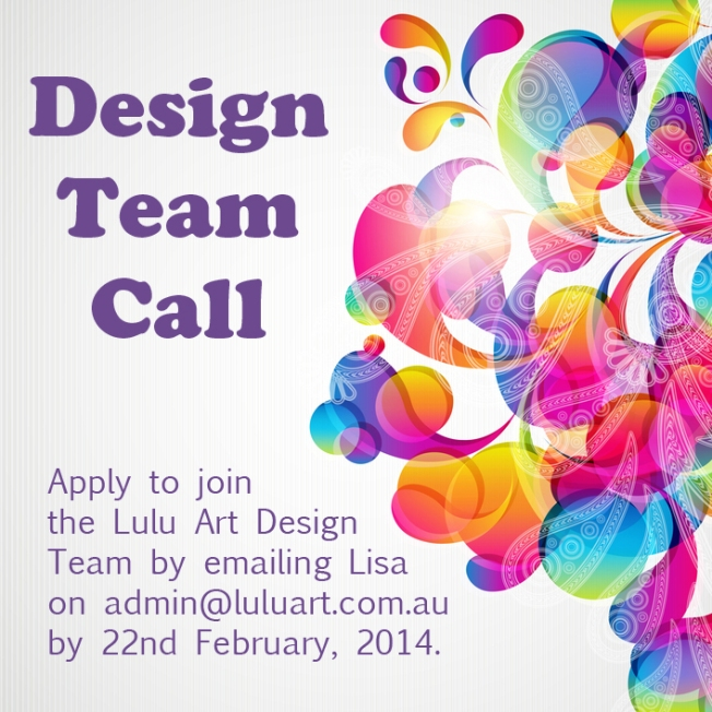 Design Team Call for Lulu Art