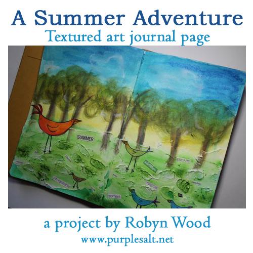 a project by Robyn Wood, Purple Salt, www.purplesalt.net