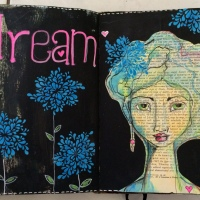 Dream - A Journal Page by Monika Dabrowska-Ejmont