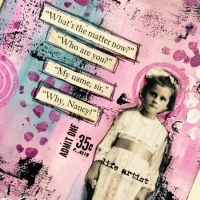 Who Are You - a journal page by Karen Knight