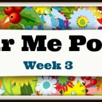 Colour Me Positive - Week 3