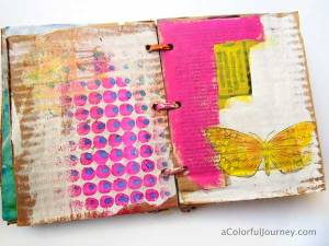 cardboard-journal-carolyn-dube-paint-5