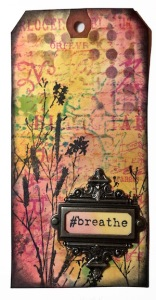 Giveaway - Breathe Bookmark - Marjie Kemper