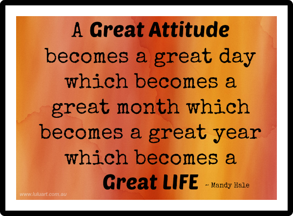 Week23-Great Attitude-GreatLife