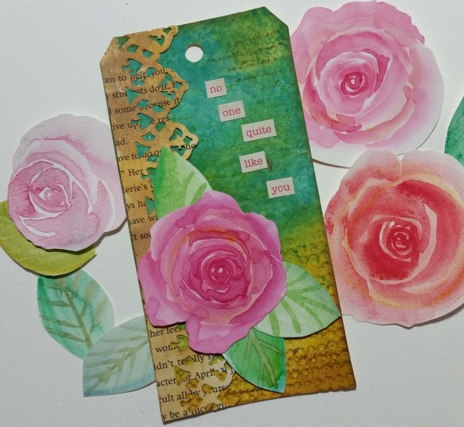 Roses on Tags