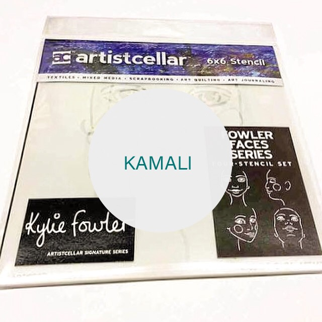 Fowler Face Stencils - Kylie Fowler