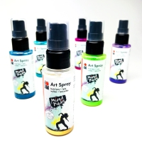 Marabu Mixed Media Art Sprays Road Test