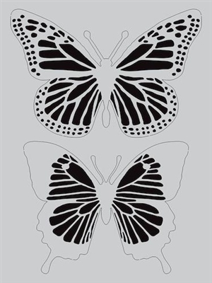 butterfly stencil