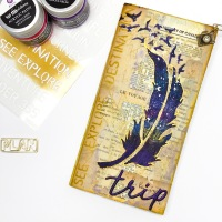 Feather Journal Cover